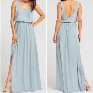 NWT Show Me Your Mumu Kendall Maxi Dress Sage